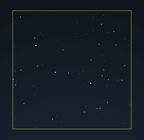 Image example of starfield