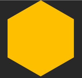Image example of the final hexagon shape