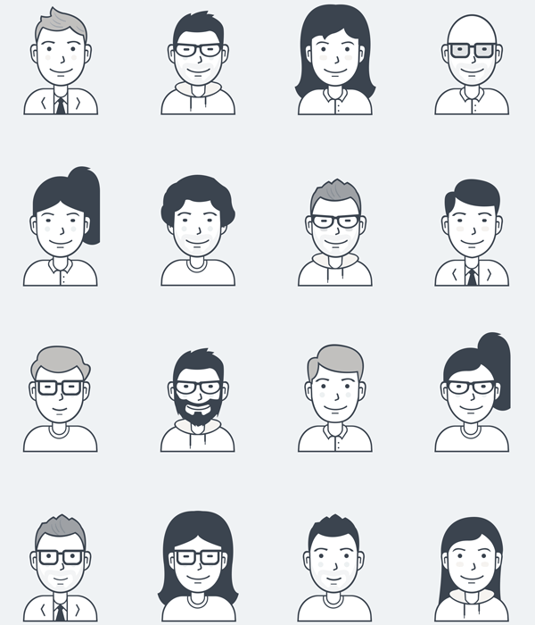 Preview of Nucleo 200 Vector Icon Pack