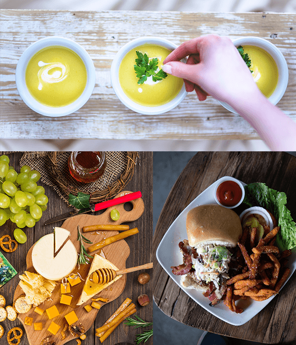 Preview of Food From a Birds-eye View Stock Photo Pack