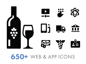 Iconify 650+ Free Web and App Icons