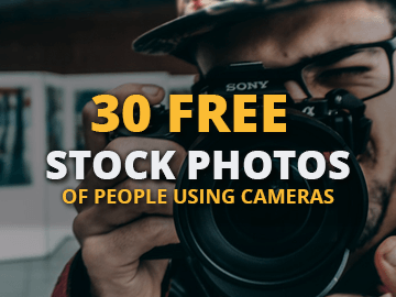 Free Stock Photo Pack of People Using Cameras