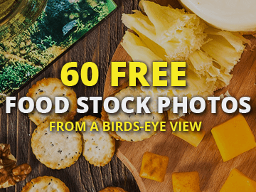 Free Food Stock Photo Pack From a Birds-Eye View